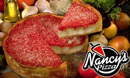 Nancy's pizza coupons orland park il