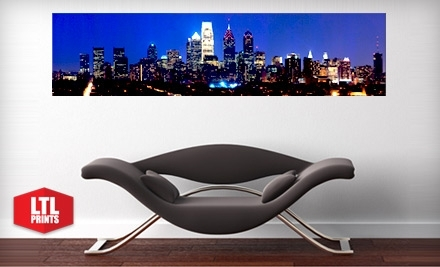 Groupon - 4x1 ft. Panoramic Wall Mural from LTL Prints - $35
