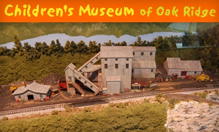 $45 for One-Year Family Membership to Children's Museum of Oak Ridge ($90 Value)