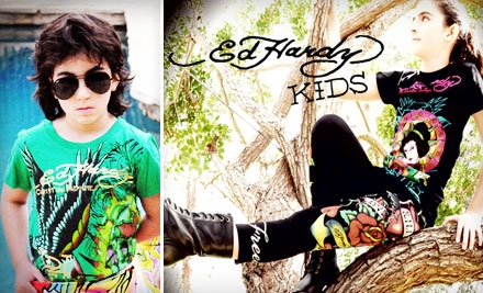 $20 for $40 Worth of Clothing and More from Ed Hardy Kids
