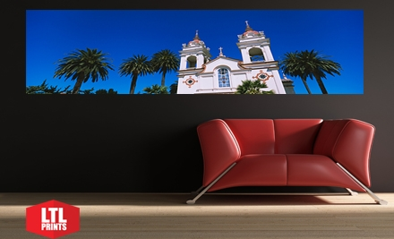 """$35 for a """"Big Wall Graphic"""" Panoramic Wall Mural from LTL Prints ($84 Value)"""