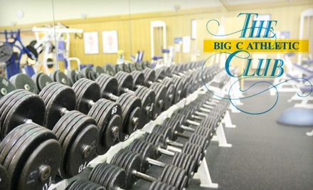 $50 for a 30-Day Membership to The Big C Athletic Club in Concord ($100 Value)