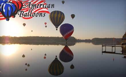 $110 for a One-Hour Hot Air Balloon Ride at American Balloons in Land O Lakes ($202.23 Value)