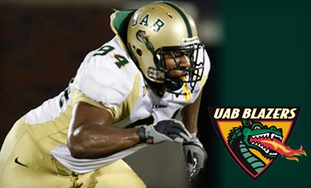 $8 for One Ticket to See the UAB Blazers vs. the Memphis Tigers in the Battle for the Bones at Legion Field (Up to $20 Value)