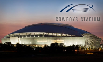 Behind-the-Scenes Tour of Cowboys Stadium. Choose One of Two Tours.