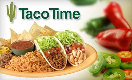 $10 for $20 Worth of Fresh, Fast, Healthy Mexican Fare at Taco Time