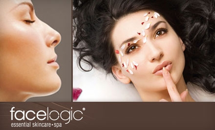$49 for Facial Package or Massage Package at Facelogic Spa in Roswell ($113