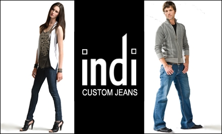 $85 for $155 Worth of Custom-Fit Jeans at Indi