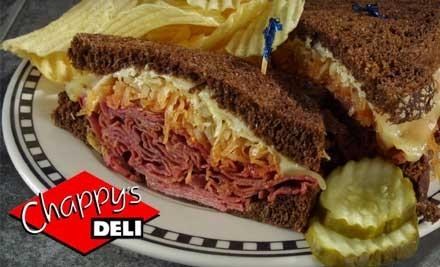 $6 for $12 Worth of Deli Fare at Chappy's Deli