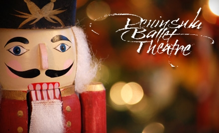 """One Ticket to the Peninsula Ballet Theatre's Production of """"The Nutcracker."""" Choose from Two Seating Levels and Four Dates."""