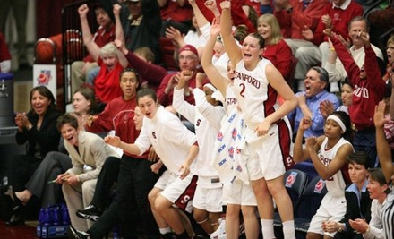 $12 for Reserved Sideline Ticket to Stanford University Women's Basketball Game ($21 Value)