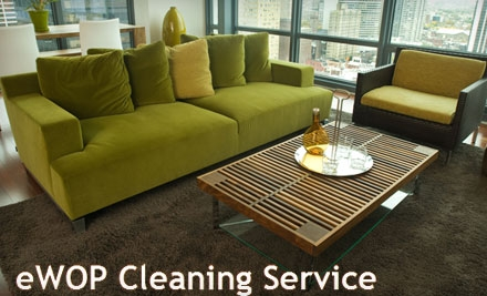 Professional Home Cleaning from Ewop Cleaning Services. Choose between Two Options.