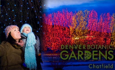 $10 For Two Tickets To The Trail Of Lights At The Denver Botanic Gardens At  Chatfield (Up To $19 Value) [groupon.com]