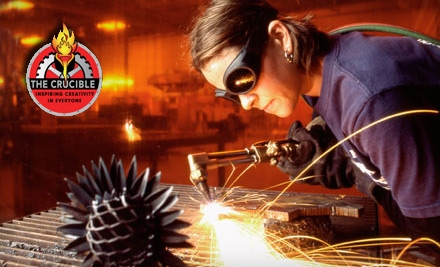 Metalworking Classes at The Crucible in Oakland. Choose Between Two Options