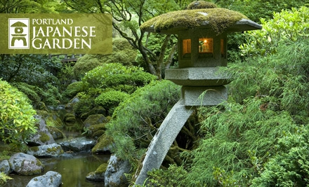 Portland 9 for two single day admissions to the - Portland japanese garden admission ...