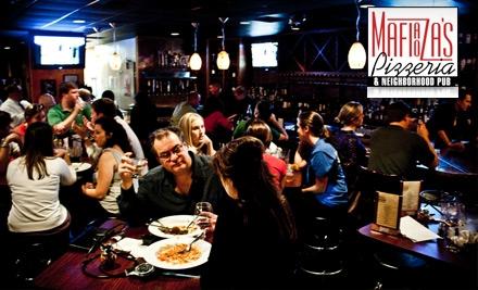 $14 for $30 Worth of Stone-Oven Pizza, Authentic Italian Fare and More at Mafiaoza's