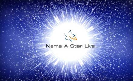 $9 for a Star Naming from Name A Star Live ($19.95 Value)