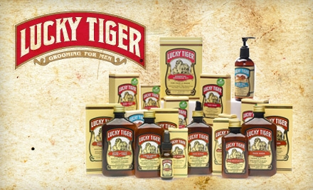 $20 for $40 Worth of Men's Grooming Products from Lucky Tiger