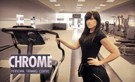 $20 for Six Group Classes at Chrome Personal Training Centre ($66 Value)