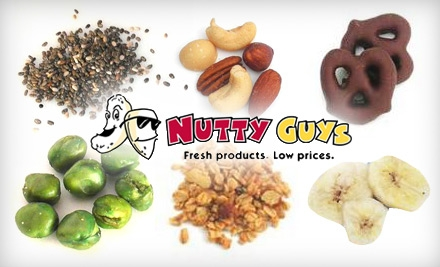 $10 for $25 Worth of Nuts, Dried Fruit, and More from Nutty Guys