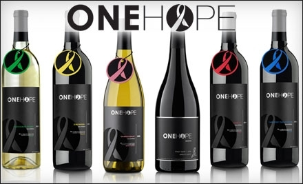$45 for $100 Worth of Wine and Merchandise Online from OneHope Wine