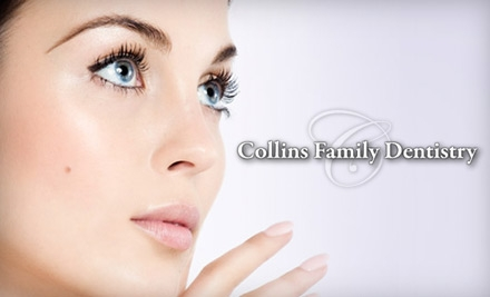 $79 or $93 for Dental Services at Collins Family Dentistry. Choose Between Two Options.