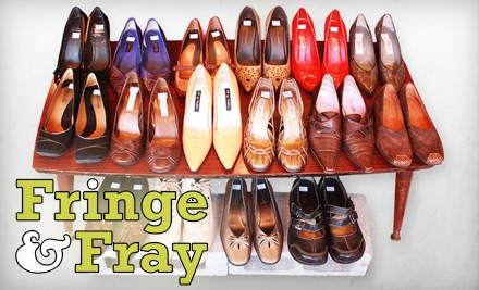 $12 for $25 of Resale Clothing and Home-Décor at Fringe & Fray