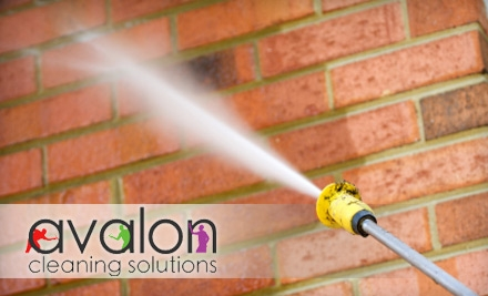 $125 for $300 Worth of Pressure Washing from Avalon Cleaning Solutions