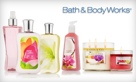 $10 for $20 or $15 for $30 at Bath & Body Works' Online Store