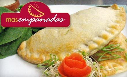 $25 for $50 Worth of Empanadas and Dipping Sauces from Mas Empanadas in San Rafael