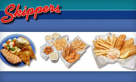 $7 for $15 Worth of Seafood and Drinks at Skippers Seafood and Chowder House