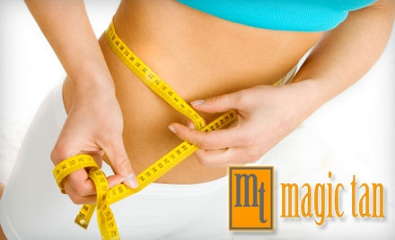 $50 for $100 Worth of Services at Magic Tan Spa