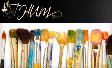 $37 for a Five-Hour Watercolor Class at Gallery of THUM ($75 Value)