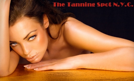 The Tanning Spot NYC discount and coupon picture