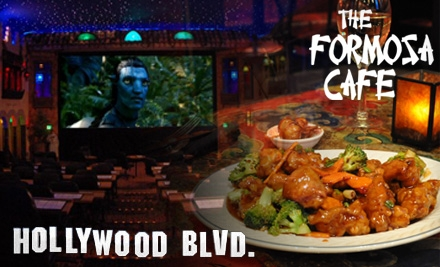 Chicago: $8 for Two Tickets to Hollywood Blvd. Cinema ($16 Value) and/or $15 for $30 Worth of Authentic Chinese Cuisine at Formosa Cafe in Woodridge