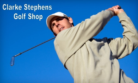 $30 for a Lesson, Club Fitting, and Launch-Monitor Session at Clarke Stephens Golf Shop