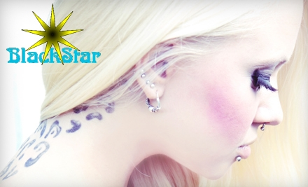 $30 for $60 Worth of Piercings and Jewellery at BlackStar Body Piercing