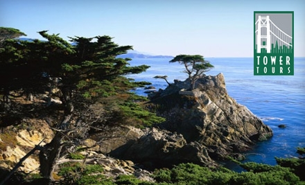 $71 for Two Adult Passes for Bus Tour of Monterey and Carmel from Tower Tours ($142 Value)