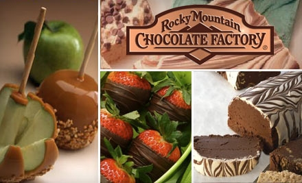 $6 for $12 Worth of Store-Made Sweets at Rocky Mountain Chocolate Factory in Spokane Valley