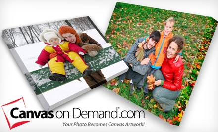 "$45 for One 16""x20"" Gallery-Wrapped Canvas Including Shipping and Handling from Canvas on Demand ($126.95 Value)"