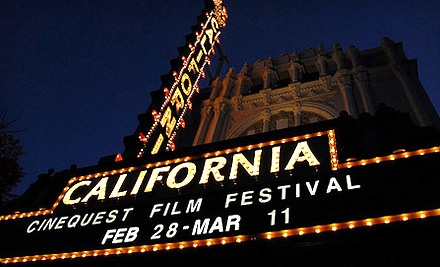 $75 for Weekend Pass to Cinequest Film Festival 21 March 5–6 (up to a $200 Value)
