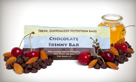 $12 for $25 Worth of Custom Nutrition Bars, Shakes, Trail Mix, and More from You Bar