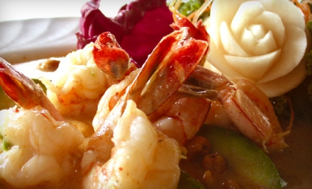 $10 for $20 Worth of Thai Fare and Sushi at Surin West, Surin 280 or Surin of Thailand