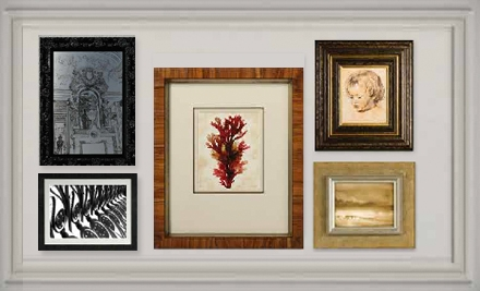 45 for $100 Worth of Custom Framing at The Great Frame Up