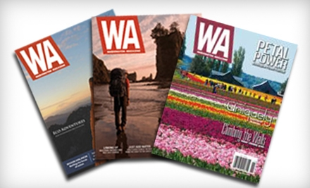 "$6 for One-Year Subscription to ""Washington Magazine"" ($12 Value)"
