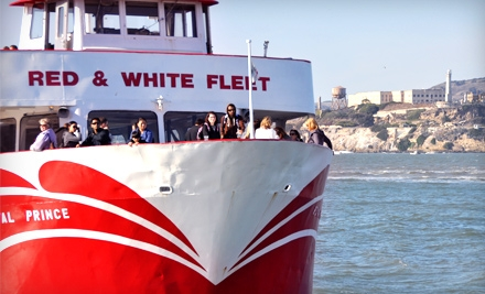 $26 for a Two-Hour California Sunset Cruise with Red and White Fleet ($54 Value)