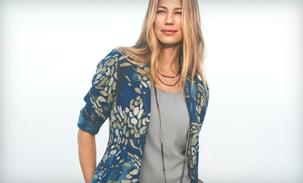 $25 for $50 Worth of Women's Apparel and Accessories at Coldwater Creek