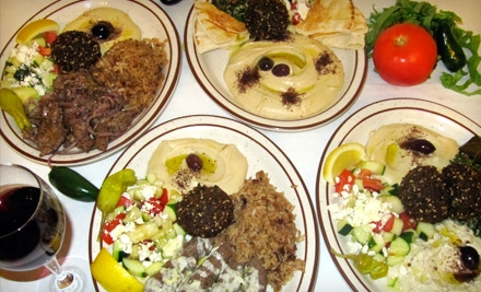 $7 for $15 Worth of Mediterranean Fare at Blue Front Cafe