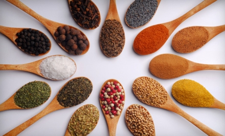 $15 for $30 Worth of Spices from Spicely Organic Spices