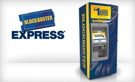 Blockbuster Express on Groupon